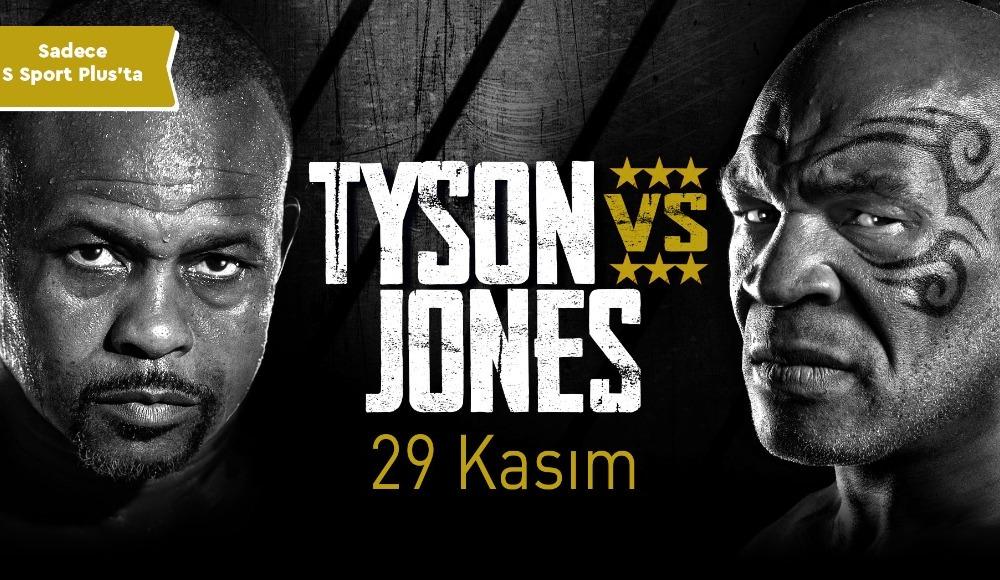 Saran Medya, Mike Tyson vs. Roy Jones Jr. maçının yayın haklarını satın aldı!